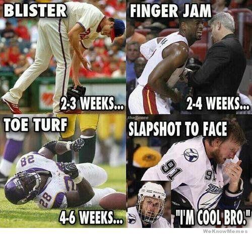 Why Hockey Players Are The Toughest Athletes Hockey Humor Hockey Memes Hockey Quotes