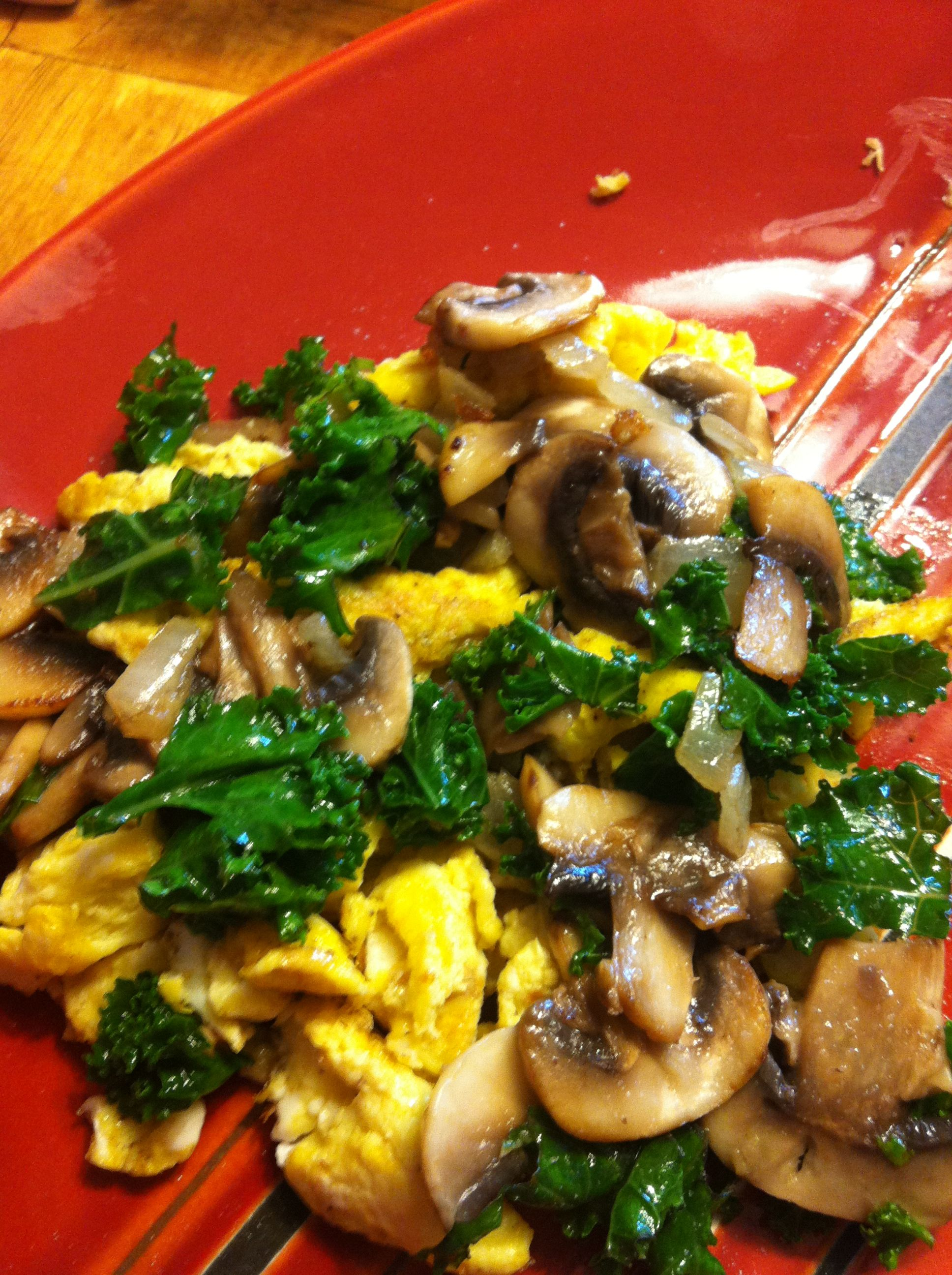 Kale, Mushroom And Caramelized Onion Breakfast Casserole Recipes ...