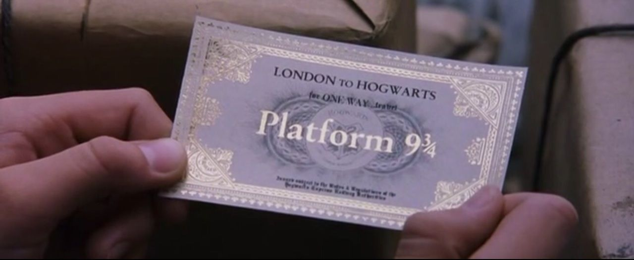 On We Heart It Hogwarts Fem Harry Potter Hogwarts Express