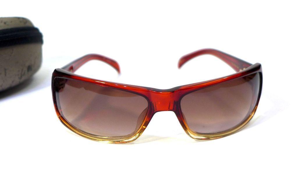 a1a904fa19ae Black Flys Womens Sunglasses FlyJacker Red W Gold Rim Handmade Japan  Excellent