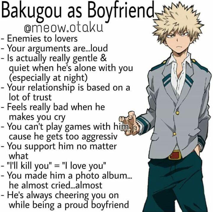 Katsuki as boyfriend | My Hero Academia Amino