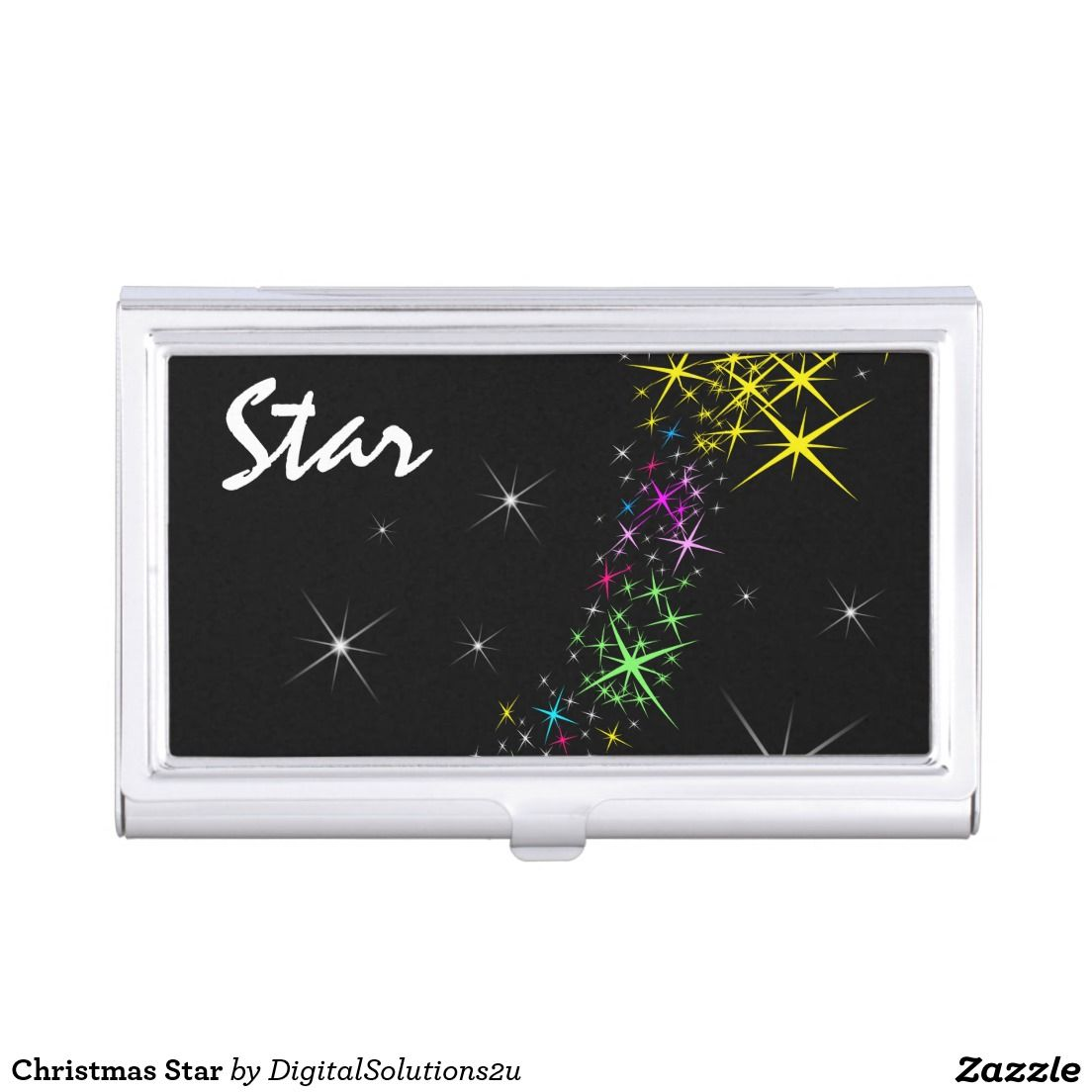 Christmas Star Business Card Holder