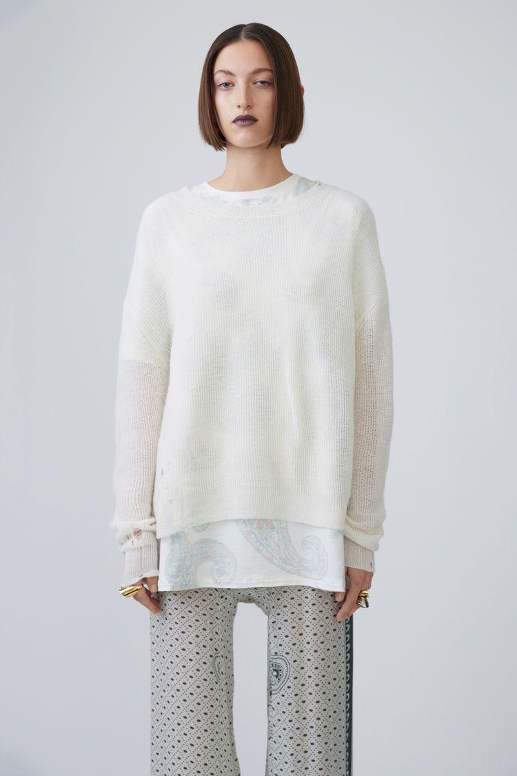 Acne Studios, Aisha Alpaca, Off White, 375x | Knits | Pinterest ...