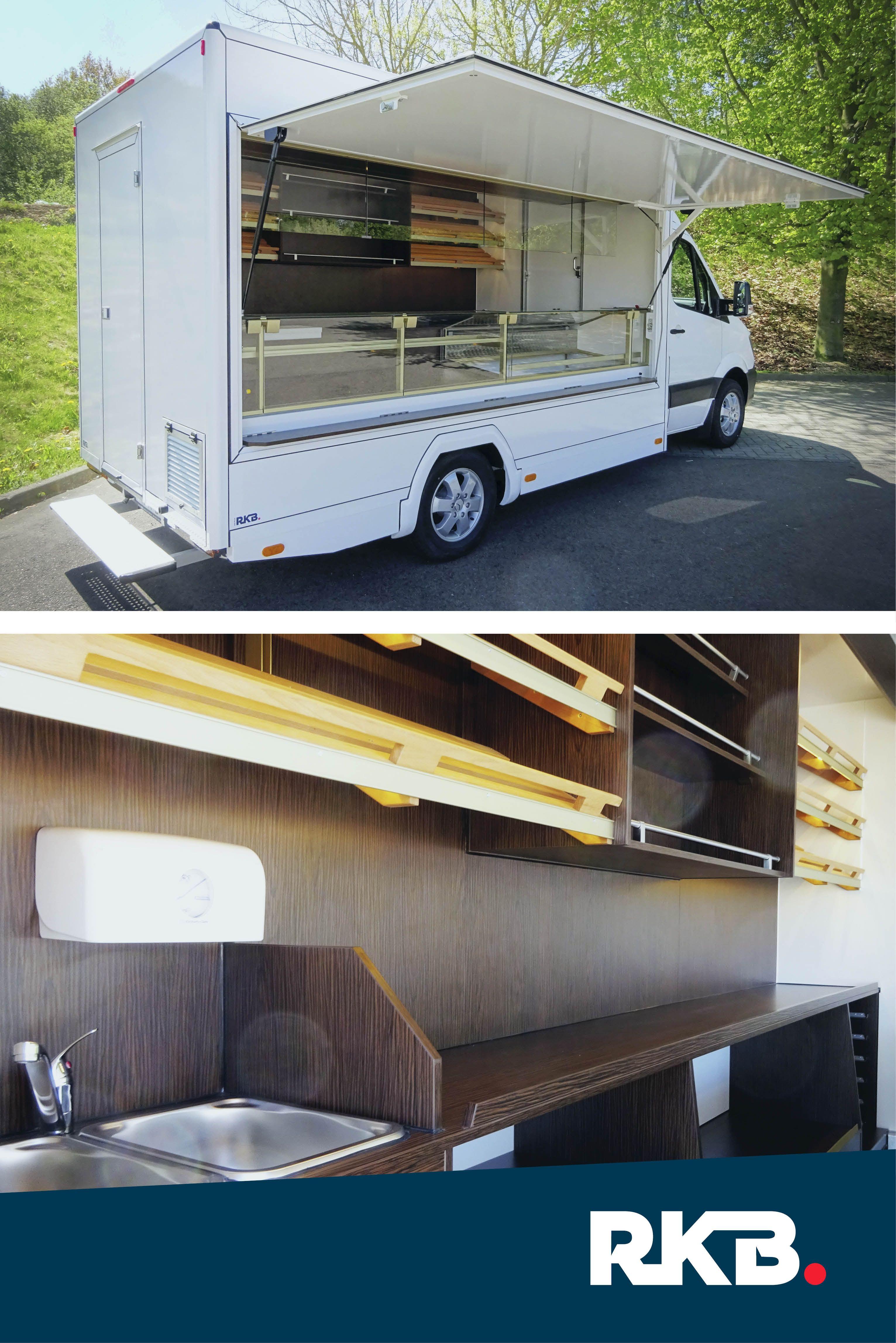Verkaufsfahrzeug für Bäckerei Hiltner von RKB - Tourenverkaufsmobil ...