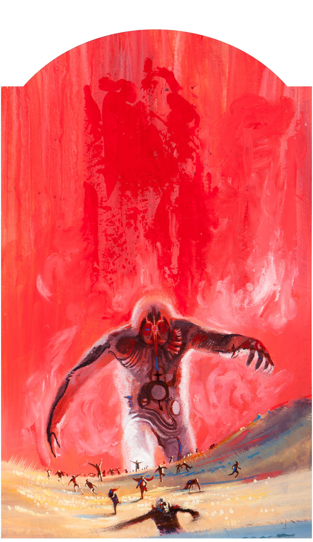 John schoenherr 19352010 cover art for the herod men