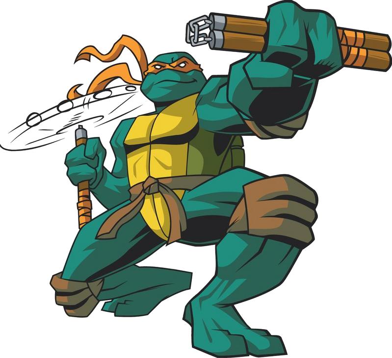 Ninja Tutle Michelangelo Png Image Teenage Mutant Ninja Turtles Artwork Michelangelo Ninja Turtle Ninja Turtles Artwork