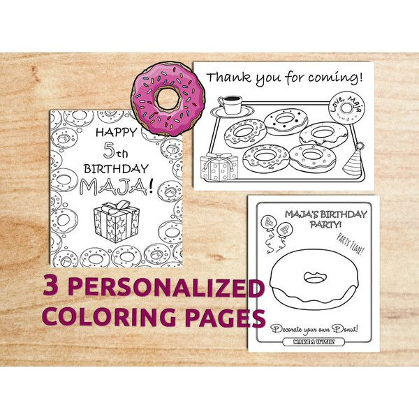 Pin by Linda Maddeford on More Polyvore | Donut birthday ...