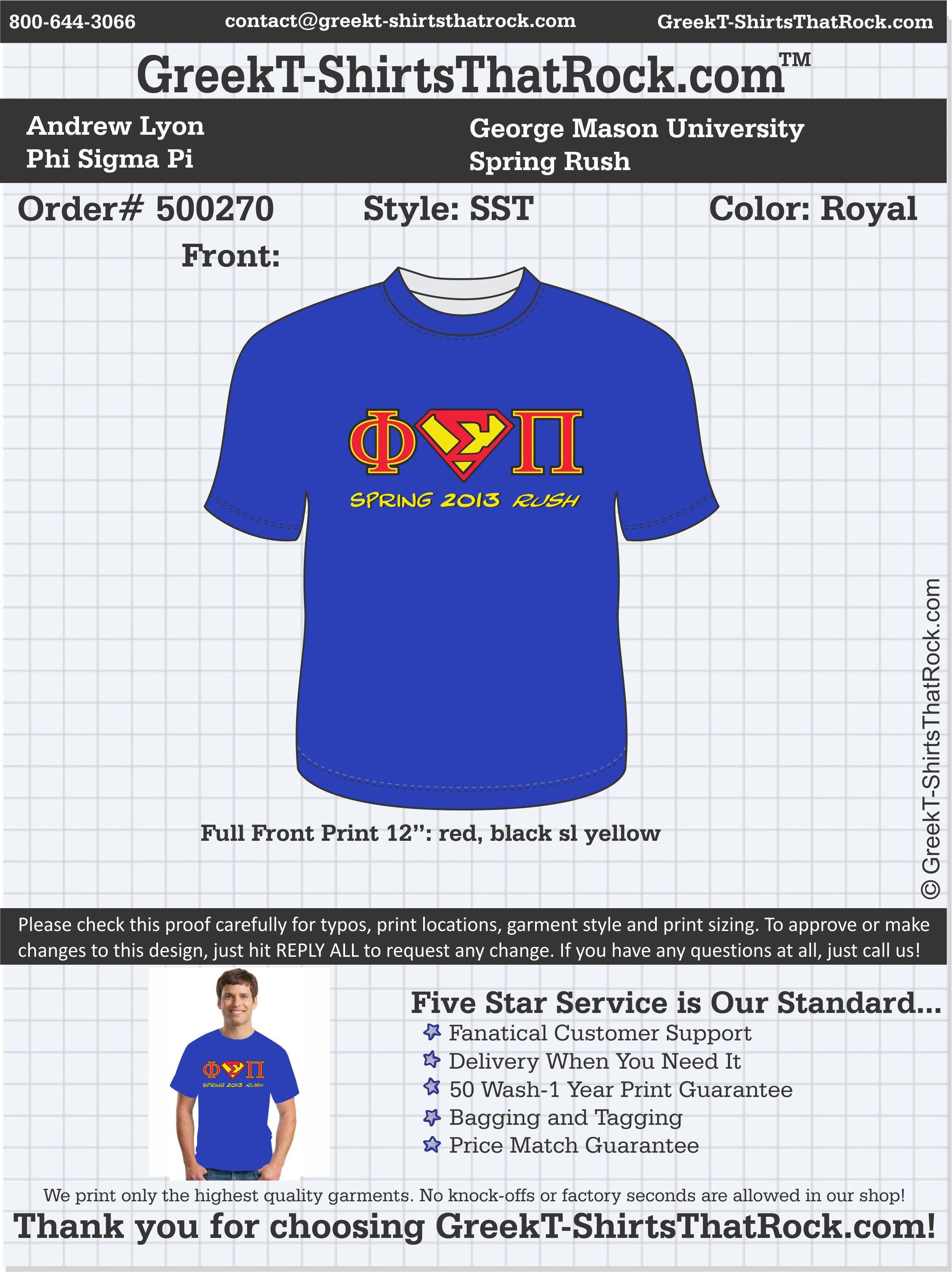Design t shirt upload picture - Phi Sigma Pi T Shirts That Rock Phisigmapi Customize This Design For Your