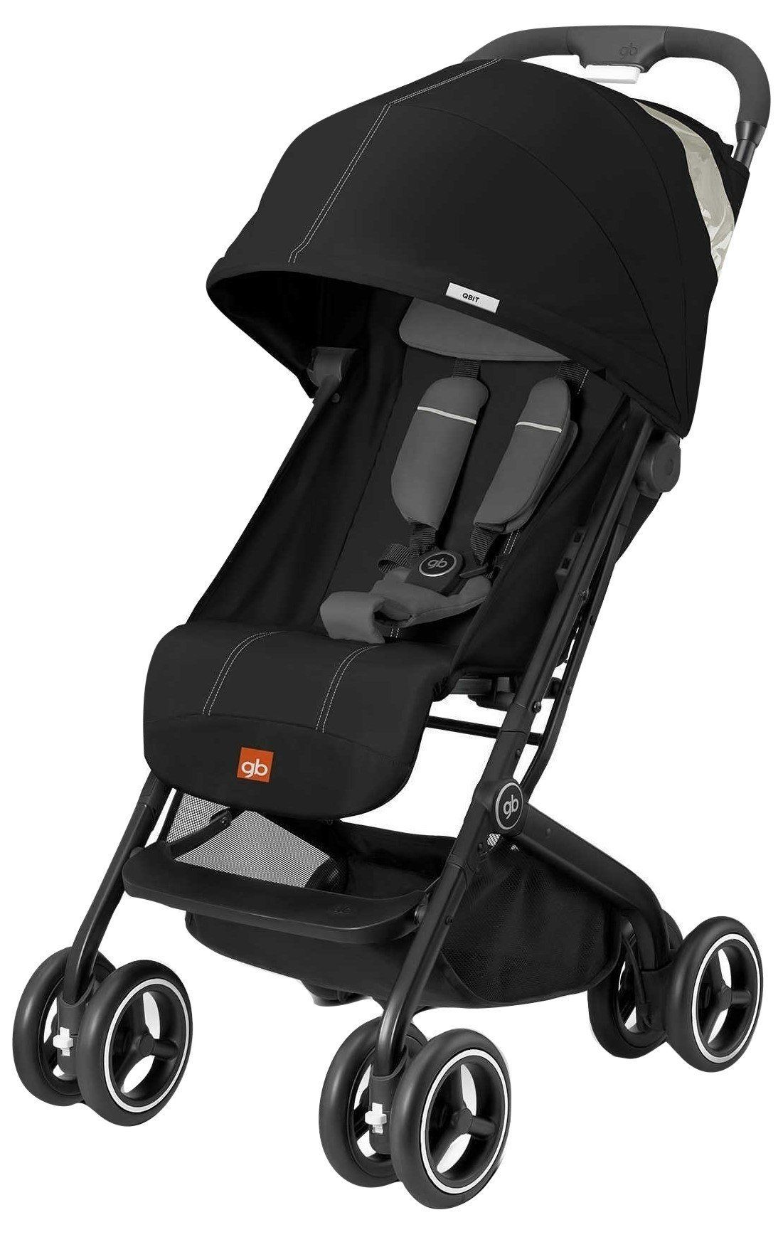 GB QBit Plus (Monument Black) parents stroller baby