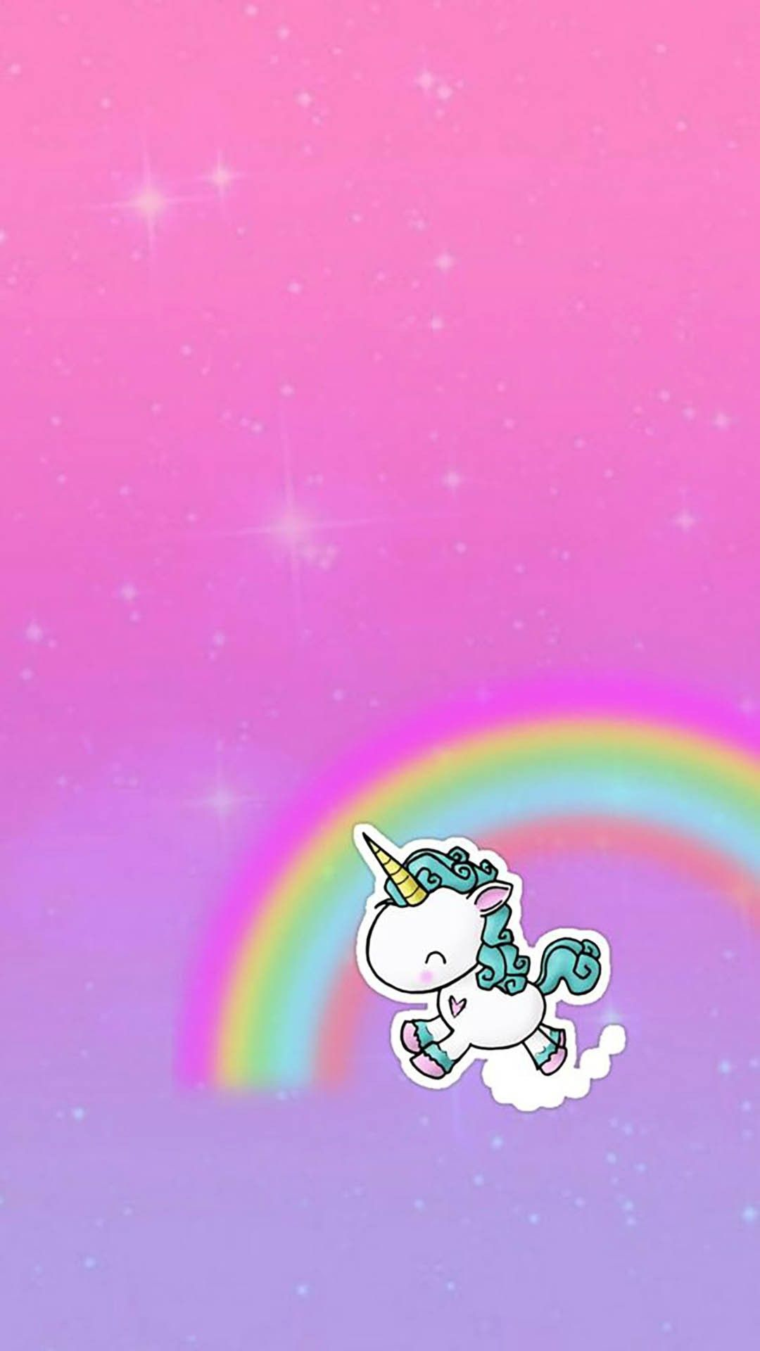 Rainbow Unicorn Galaxy Wallpaper Androidwallpaper