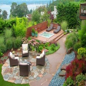 Exceptional Landscaping Ideas On A Budget | Wonderful Backyard Landscaping Ideas   How  To Design Backyard . Nice Look