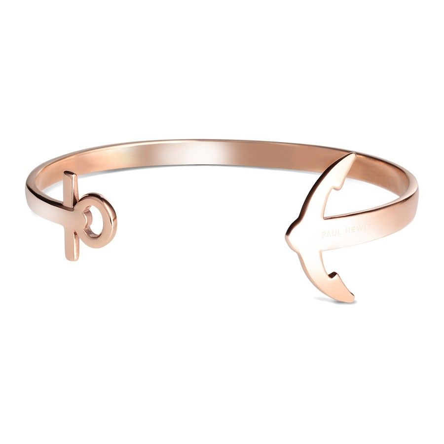 Rose Gold Armband Paul Hewitt Ancuffs Nautical Rose Gold Bangle Armband Ph Cu R