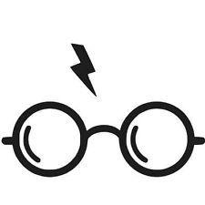 Harry Potter Lightning Bolt And Glasses Harry Potter Decal Harry Potter Glasses Harry Potter Logo