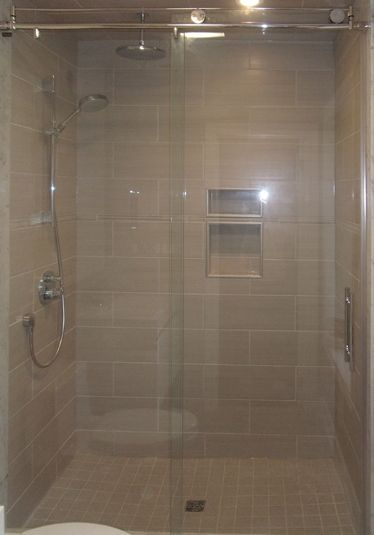 Shower Door Corner Roller Door Doorsandmore Ca Shower Doors