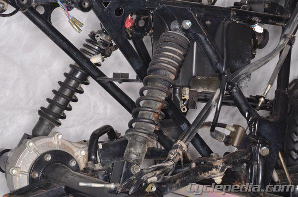 Kawasaki Klf220 250 Bayou Rear Suspension 4 Wheeler Bayou Kawasaki