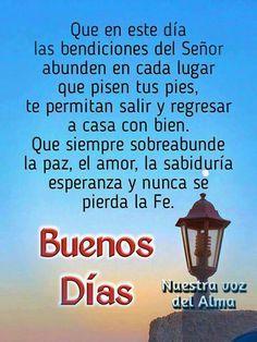 Las bendiciones del Señor abundan en cada lugar que pisen tus pies