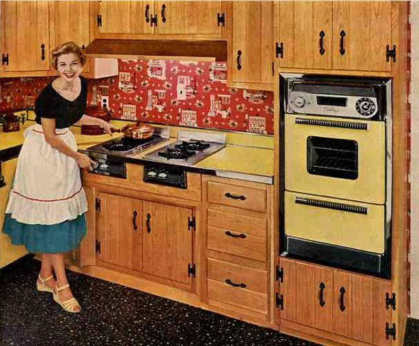 50s Kitchen 10 ideas for cheery 40s or 50s kitchen curtains | surf board
