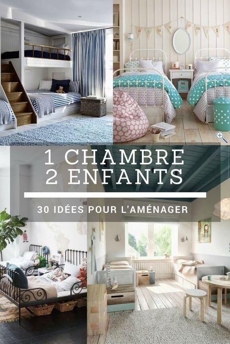 1 Chambre Pour 2 Enfants 40 Idees Pour L Amenager Chambre Pour