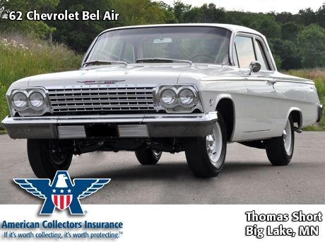 In 1962 The Full Sized Chevrolet Bel Air Received A New Outer Shell The Clean Look Of The 62 Had A Huge Im Chevy Bel Air Muscle Cars Camaro Chevy Muscle Cars