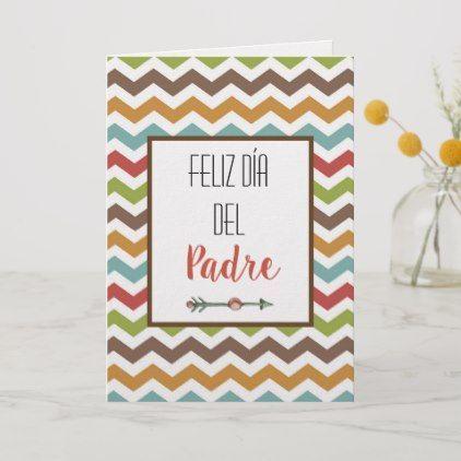 Feliz Dia Del Padre Spanish Fathers Day Card