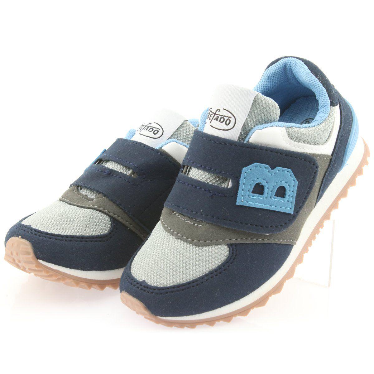 Befado Obuwie Dzieciece Do 23 Cm 516y041 Niebieskie Szare Granatowe Baby Shoes Shoes Fashion