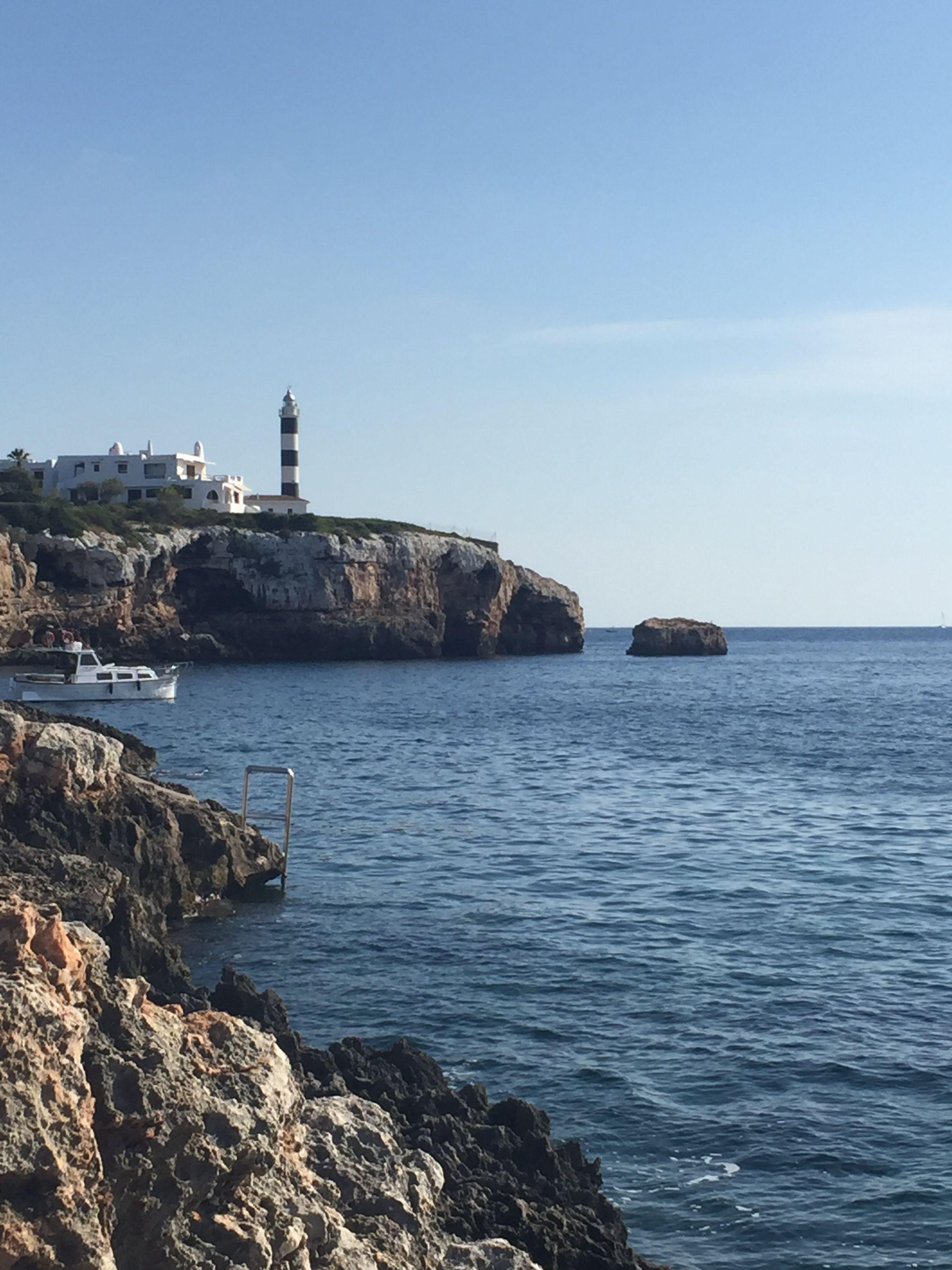 Der Leuchtturm Von Portocolom Mallorca Balearen Beauty Leuchtturm