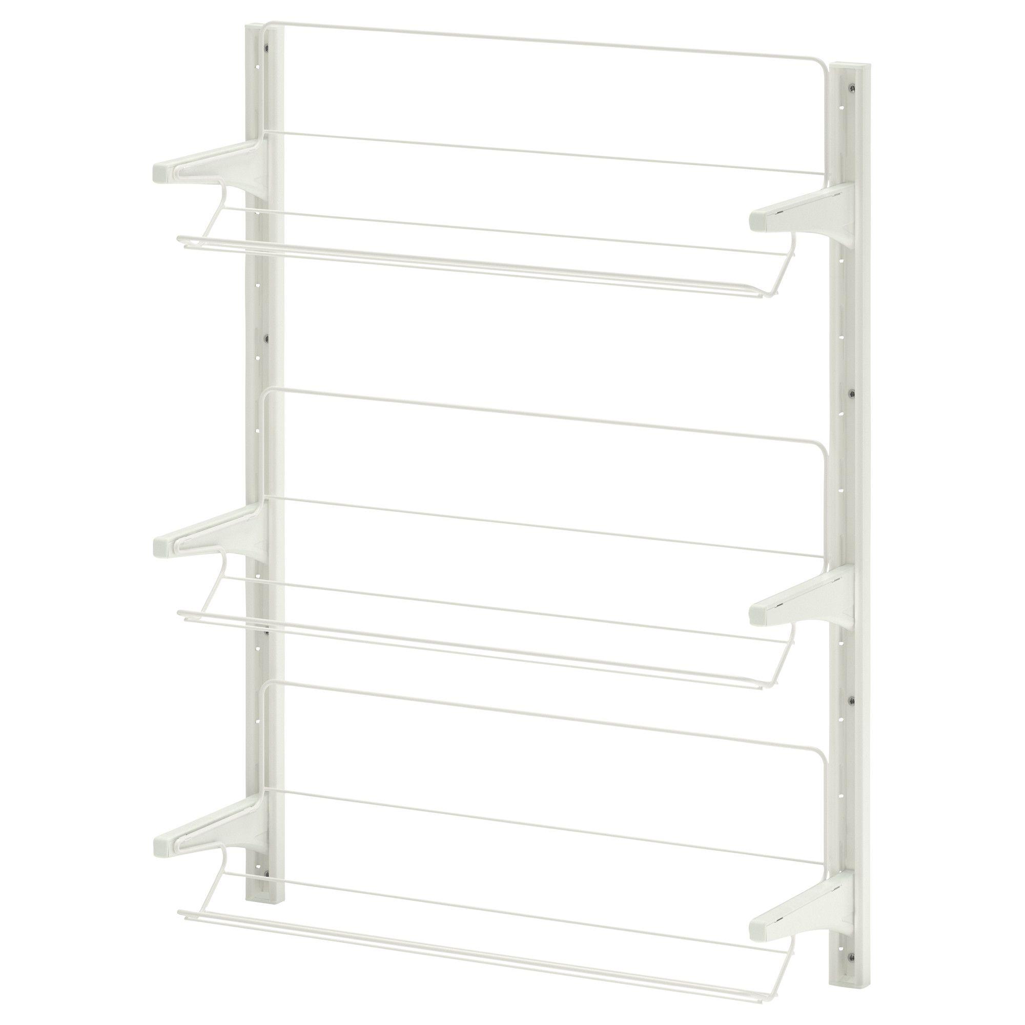 ALGOT Vægstolpe/skohylde - 65x20x84 cm - IKEA