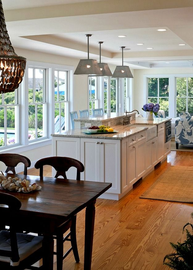 A shingled house with aqua shutters on cape cod cape cod Breakfast nook bar ideas