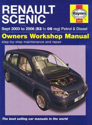 Renault Scenic Petrol And Diesel Service And Repair Manual