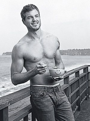 McSteamy...even the bowl is happy to be next to him :) lol