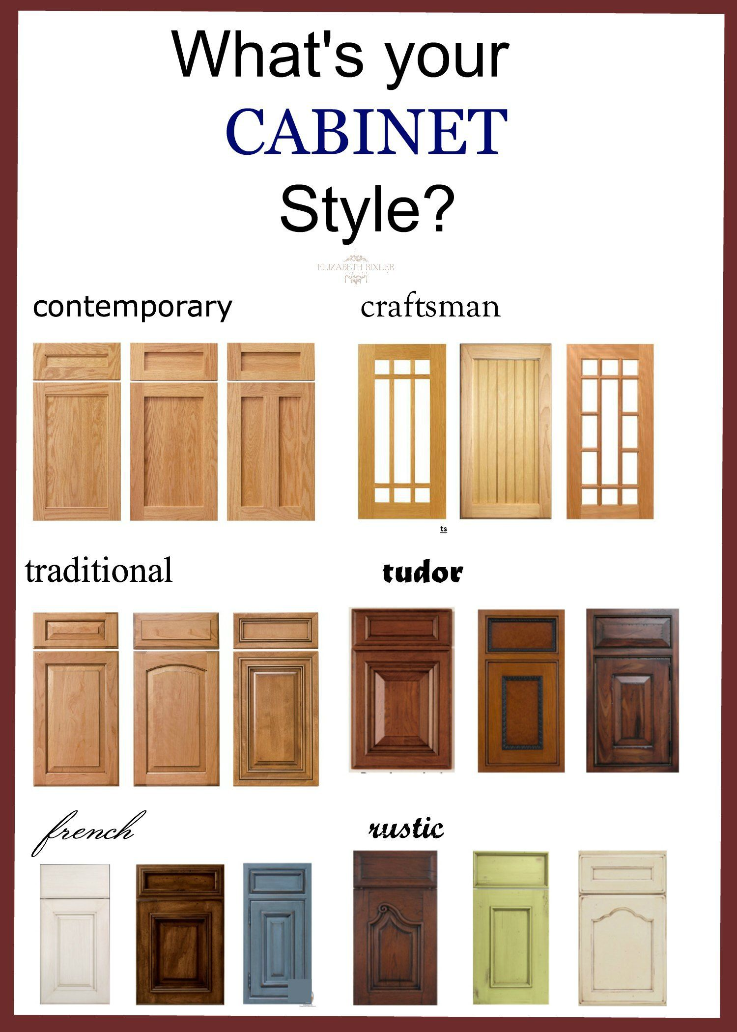 bathroom + kitchen cabinet door styles | Kitchen cabinet ...