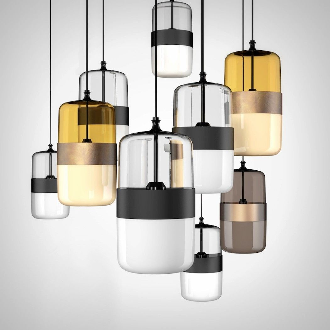 The Futura Lighting By Hangar Design And Vistosi Have An Interesting Aesthetic Off The First Glance I M Reminded Of Futuristic Lighting Pendant Light Vistosi