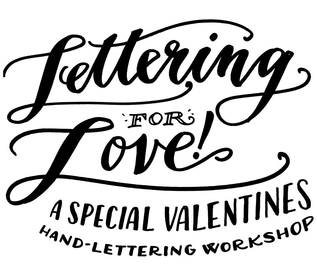 miami lettering for love special valentines edition hand lettering workshop