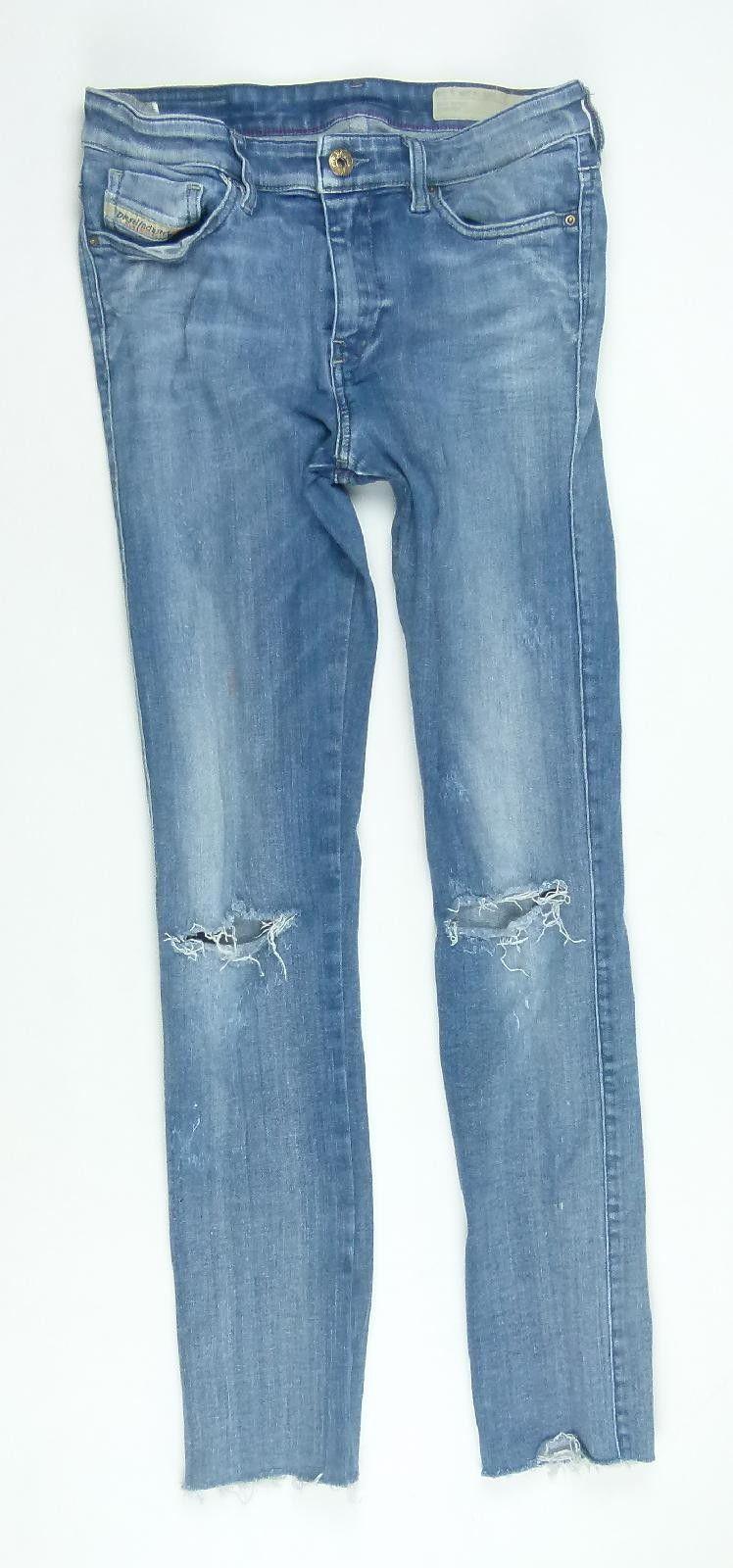 2f142009 Womens Diesel Blue Jeans Size W28/L27 | PreLoved Diesel | Jeans size ...