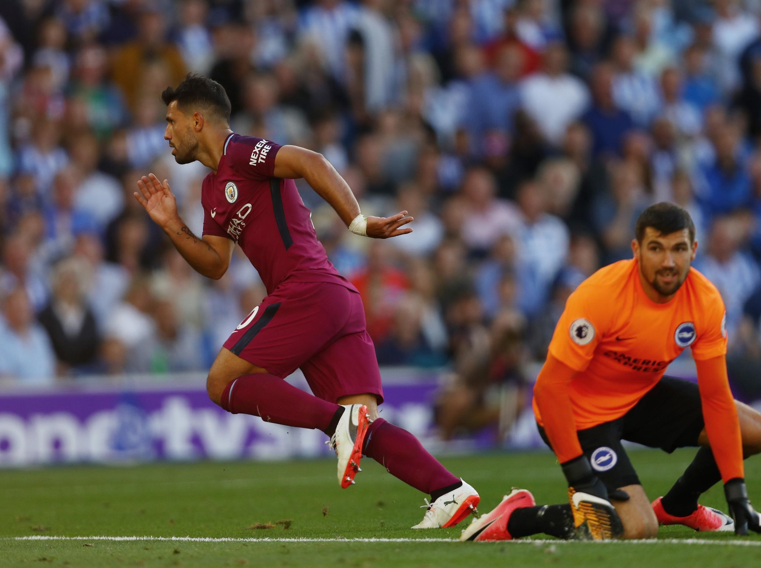 Premier League title favourites Manchester City leave it