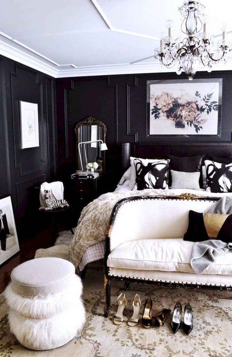 Fifty Fabulous Black & White Rooms (With images) | Black ...