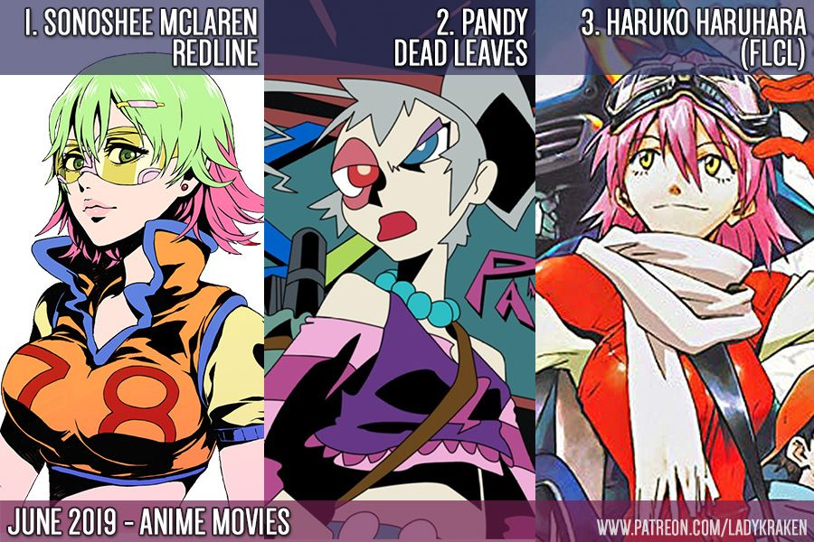 June 2019 Poll Anime Movies/series Poll VOTE HERE