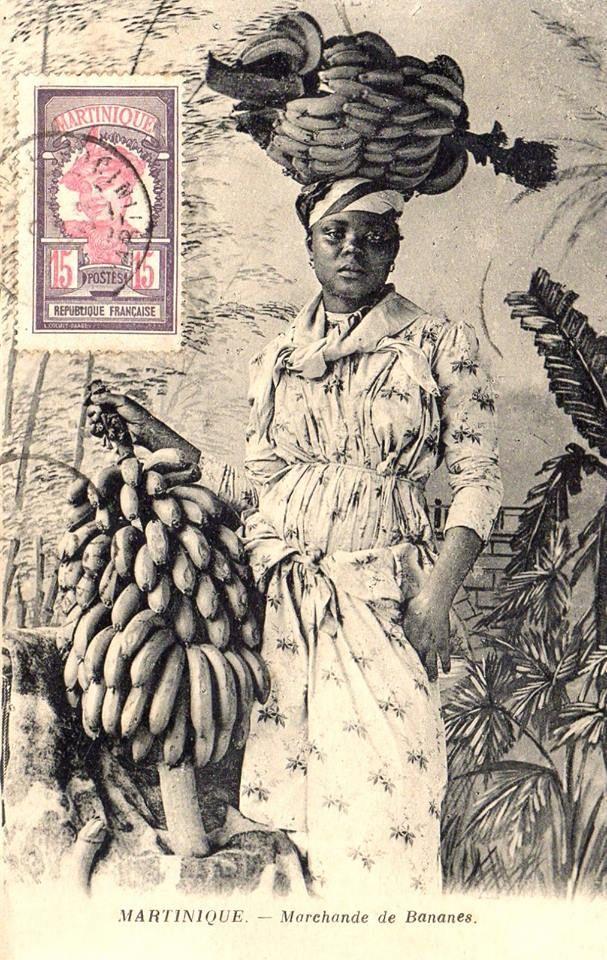 Marchande de Bananes, années 1920