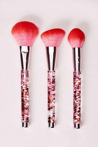 Hot Stuff Brush Set In 2020 Makeup Brush Organization Brush Set Brush