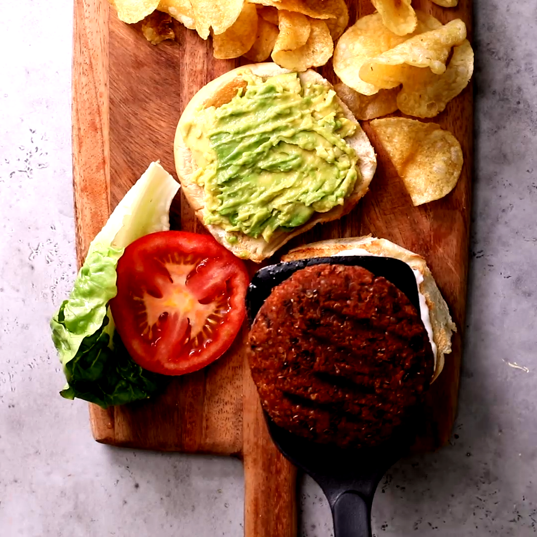 Quinoa Burger. This vegan quinoa burger recipe is easy, healthy and packed with protein. Theres no