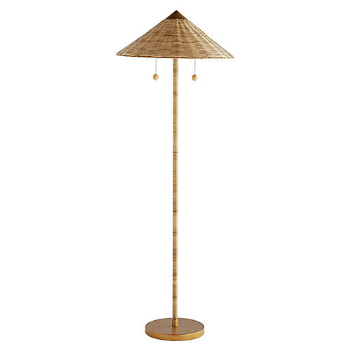 Celerie Kemble – Terrace Floor Lamp, Natural Terrace