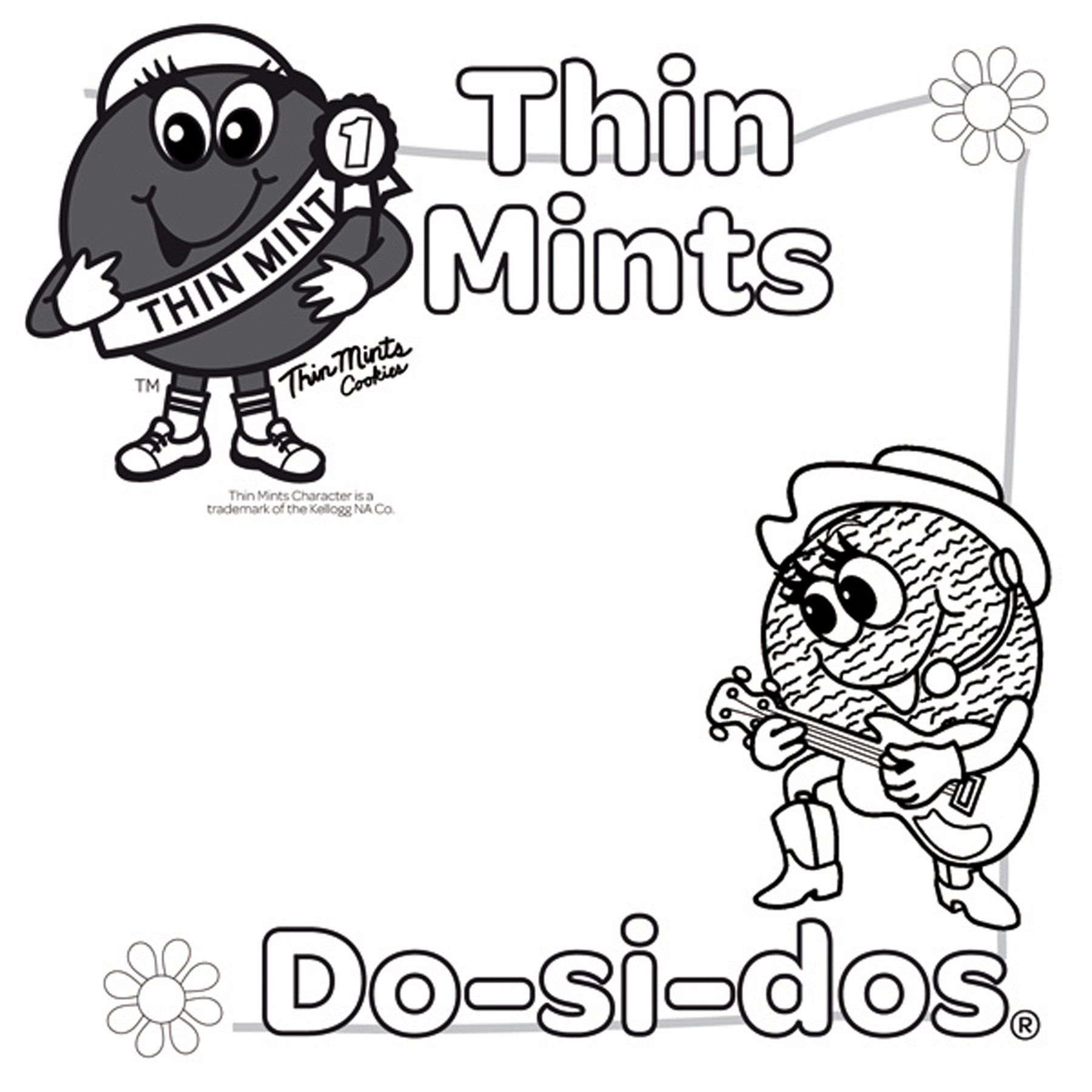 Girl Scout Coloring Pages For Juniors 2