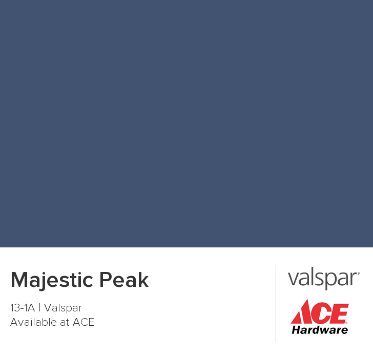 Valspar Paint Color Chip Majestic Peak Valspar Paint Colors
