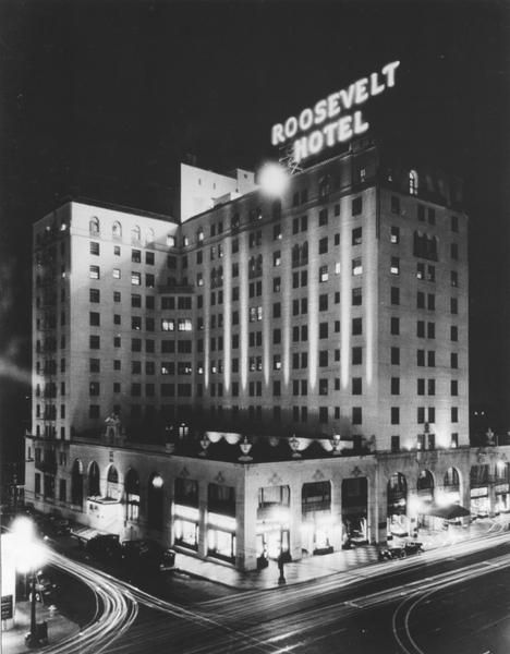 Roosevelt Hotel, Hollywood Boulevard In 1927, Around The
