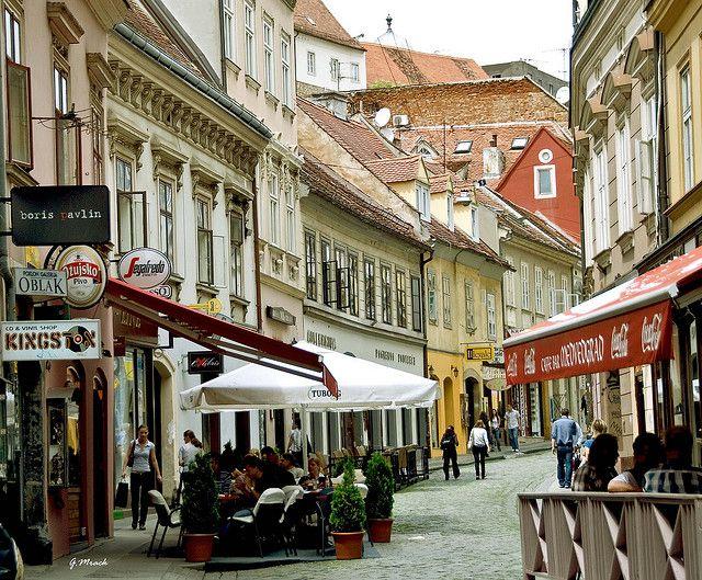 Zagreb Ruela Da Cidade Antiga Zagreb Croatia Croatia Travel Croatia