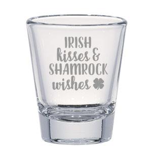 Custom Shot Glasses For St Patrick S Day Party Favors Custom Shot Glasses Shot Glasses Custom Cups