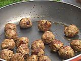 The Juiciest Meatballs Ever. Made these the other night and froze enough for three more meals.