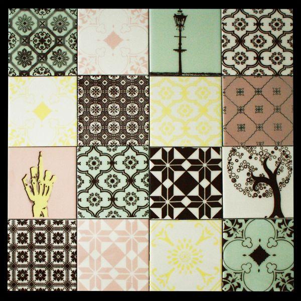 Pastel ceramic tiles arttiles tiles pinterest - Korbmacher fliesen ...