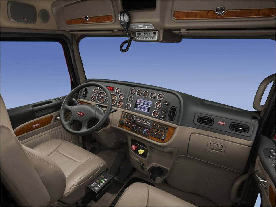 Peterbilt 579 Interior Peterbilt 389 Interior By Phil