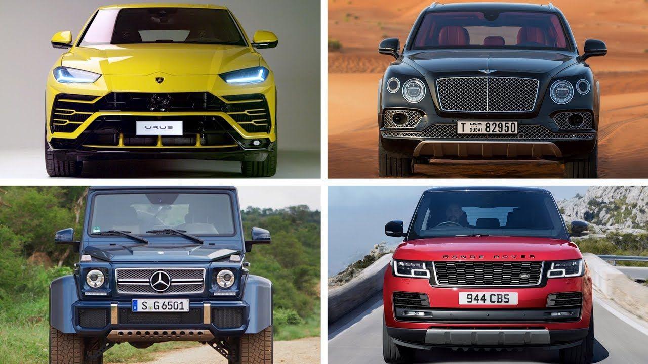 Top 10 Best Suv 2018 Luxury Suv Best Suv Sports Cars Luxury